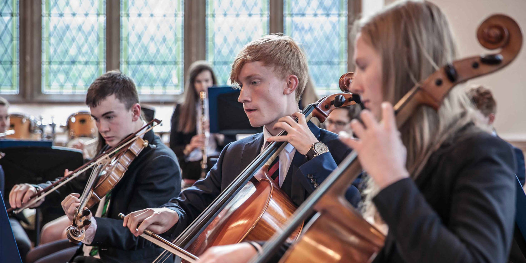 Malvern College music